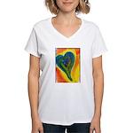 Bright Valentine Women's V-Neck T-Shirt
