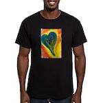 Bright Valentine Men's Fitted T-Shirt (dark)