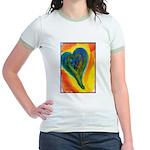 Bright Valentine Jr. Ringer T-Shirt