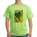Bright Valentine Green T-Shirt
