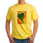Bright Valentine Yellow T-Shirt