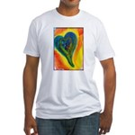 Bright Valentine Fitted T-Shirt