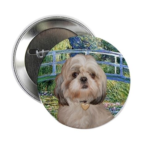 "Bridge / Shih Tzu 9Y 2.25"" Button"