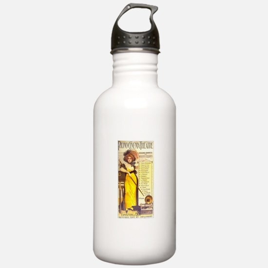 Phono Cinema Theatre Water Bottle
