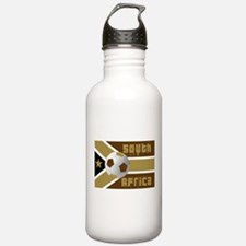 South Africa Soccer Water Bottle
