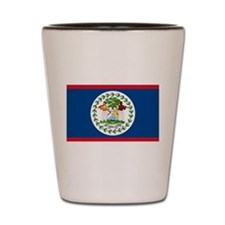 Belize Country Flag Shot Glass