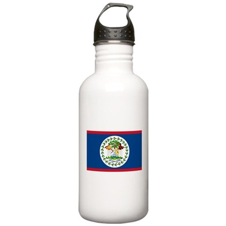 Belize Country Flag Stainless Water Bottle 1.0L