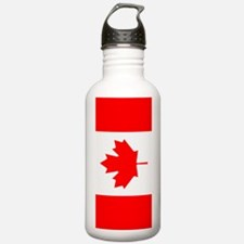 Canadian Flag Water Bottle