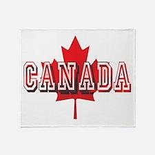 Canada Throw Blanket