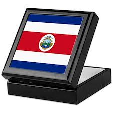 Flag of Costa Rica Keepsake Box