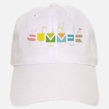 Summer Time Baseball Baseball Cap