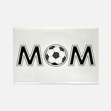 SOCCER MOM Rectangle Magnet