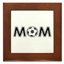 SOCCER MOM Framed Tile