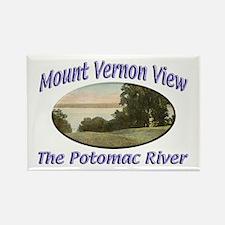 Potomac River Rectangle Magnet