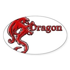 Red Dragon Decal