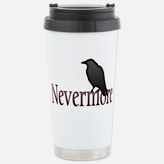 Nevermore Stainless Steel Travel Mug