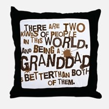 Granddad Funny Grandpa Throw Pillow