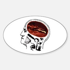 Coffee For Brains Decal