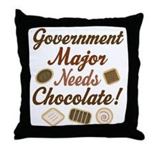 Government Major Gift Throw Pillow