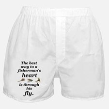 """Fisherman's Heart"" Boxer Shorts"