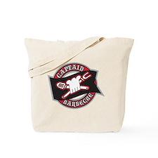 Captain Barbecue Tote Bag