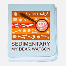 Sedimentary Watson baby blanket
