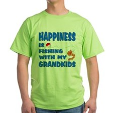 Happiness Is Fishing With Gra T-Shirt