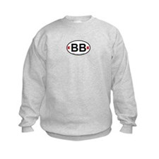 Bethany Beach DE - Oval Design. Sweatshirt