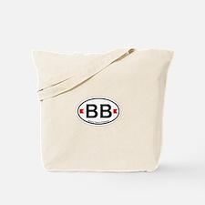 Bethany Beach DE - Oval Design. Tote Bag
