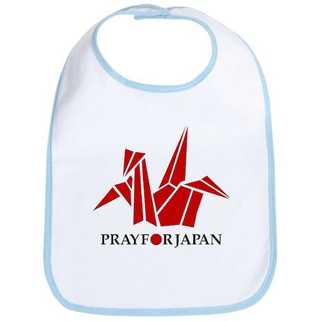 Pray For Japan - Paper Crane Bib