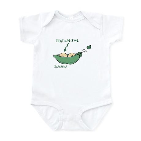 That one's me (Jonathan) Peapod Infant Bodysuit