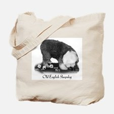 Old English Sheepdog Obedience Tote Bag