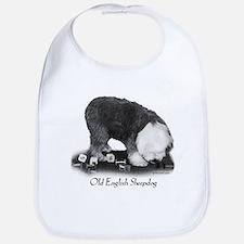 Old English Sheepdog Obedience Bib