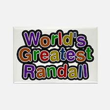 World's Greatest Randall Rectangle Magnet