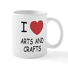 I heart arts and crafts Mug