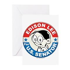 Edison for Senator Greeting Cards (Pk of 10)