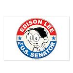 Edison for Senator Postcards (Package of 8)