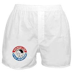 Edison for Senator Boxer Shorts