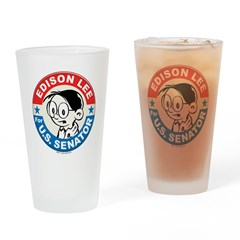 Edison for Senator Pint Glass