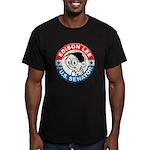 Edison for Senator Men's Fitted T-Shirt (dark)