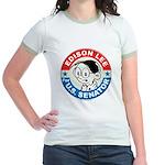 Edison for Senator Jr. Ringer T-Shirt