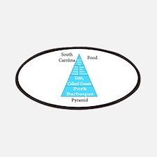 South Carolina Food Pyramid Patches