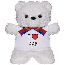 I heart rap Teddy Bear