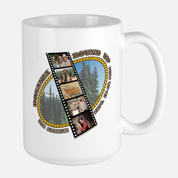BONANZA ROUND UP Mug- side logo