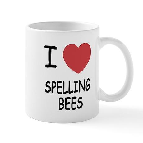 I heart spelling bees Mug