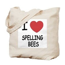 I heart spelling bees Tote Bag