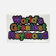 World's Greatest Raymond Rectangle Magnet