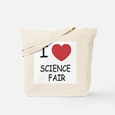 I heart science fair Tote Bag