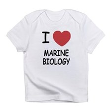 I heart marine biology Infant T-Shirt