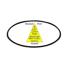 Maryland Food Pyramid Patches